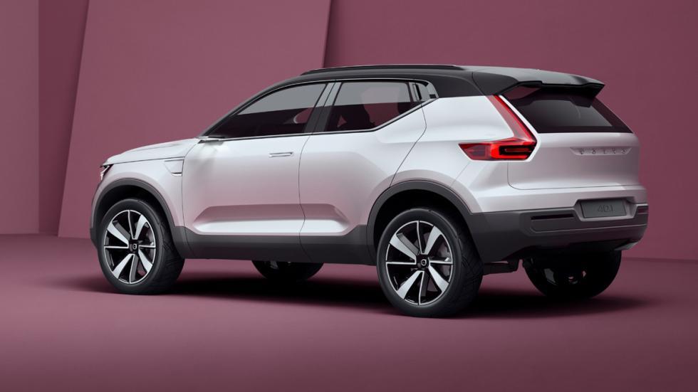 Volvo Concept 40.1 zaga