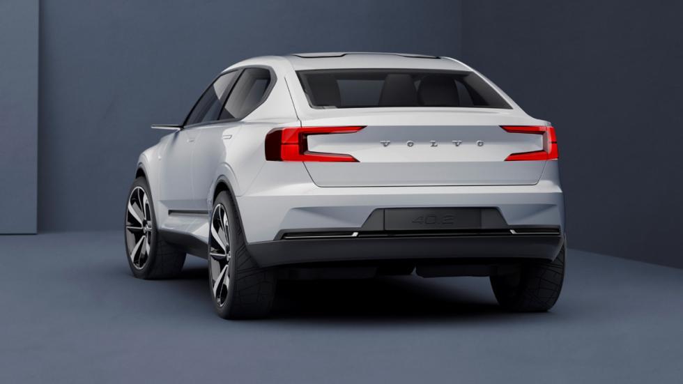 Volvo Concept 40.2 zaga