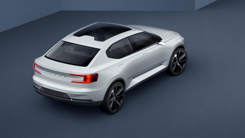 Volvo Concept 40.2 techo