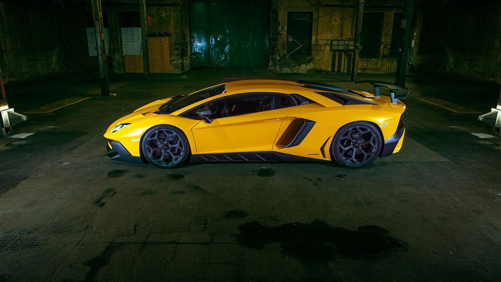 Lamborghini Aventador SuperVeloce por Novitec Torado