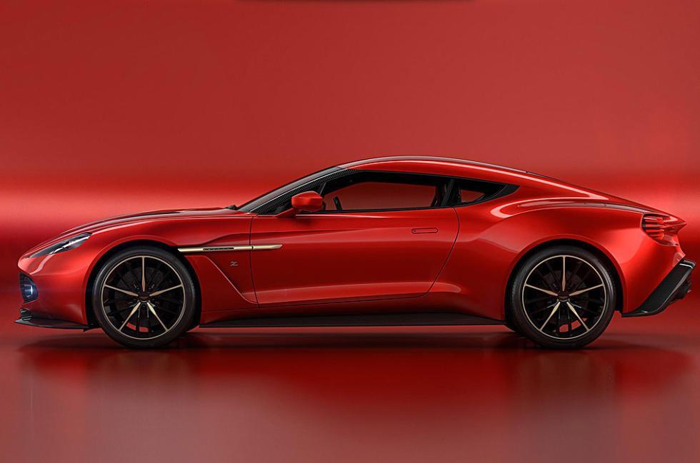 Aston Martin Vanquish Zagato Concept, en fotos