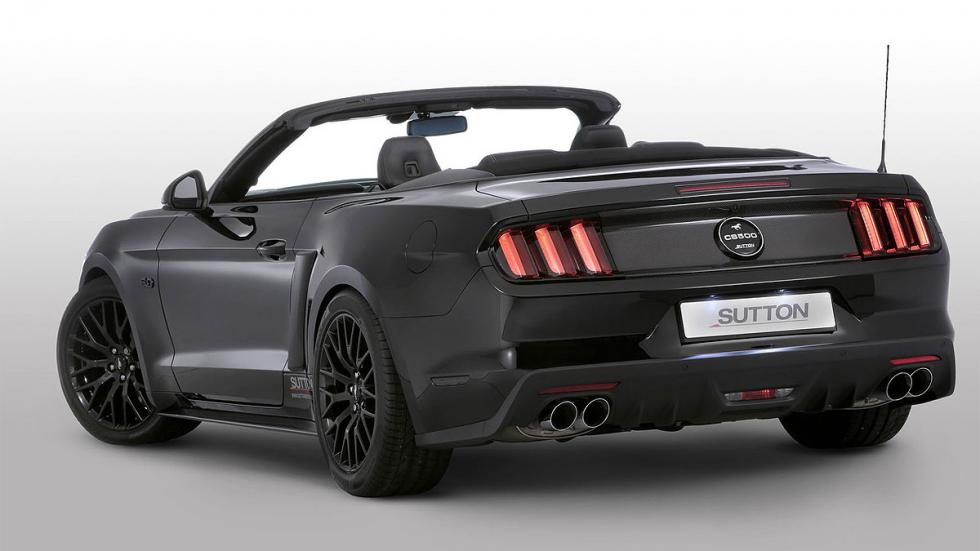 Ford Mustang Clive Sutton, en fotos