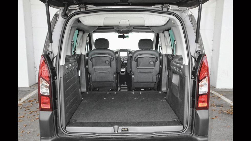 Peugeot Partner Tepee maletero