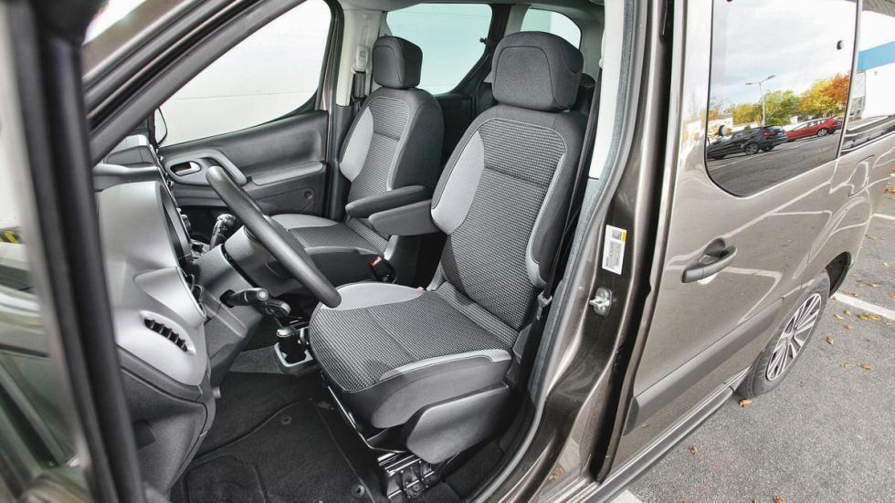 Peugeot Partner Tepee asientos