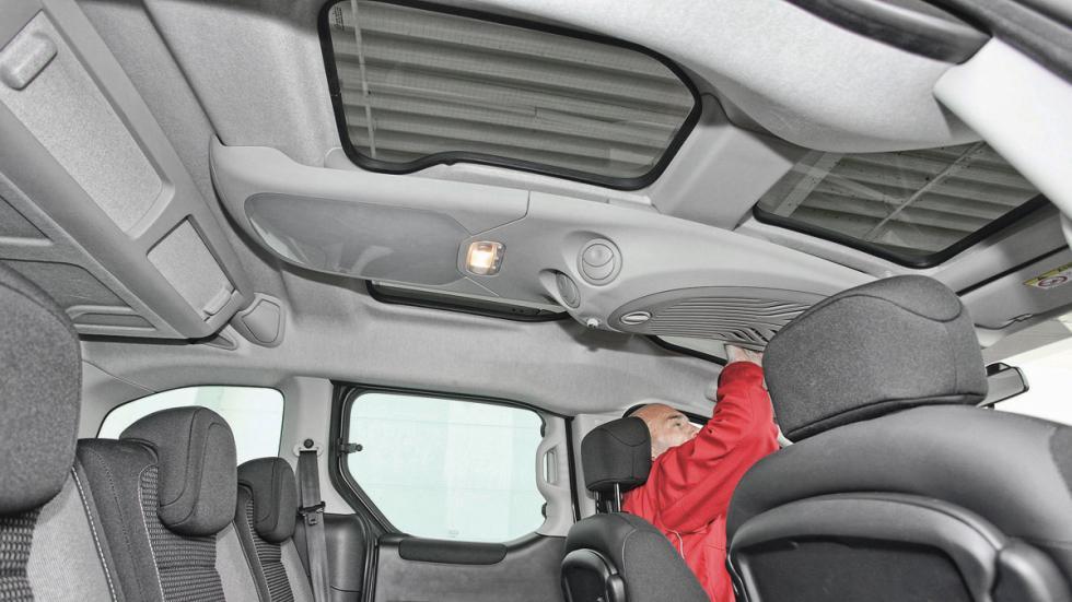 Peugeot Partner Tepee techo panoramico