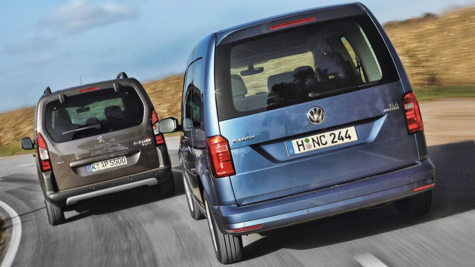 Comparativa Comerciales Vw Caddy Vs Peugeot Partner