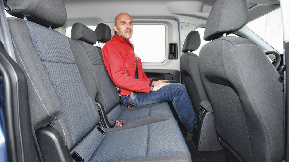 Volkswagen Caddy plazas traseras