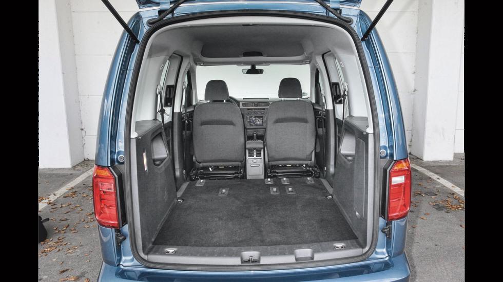 Volkswagen Caddy maletero
