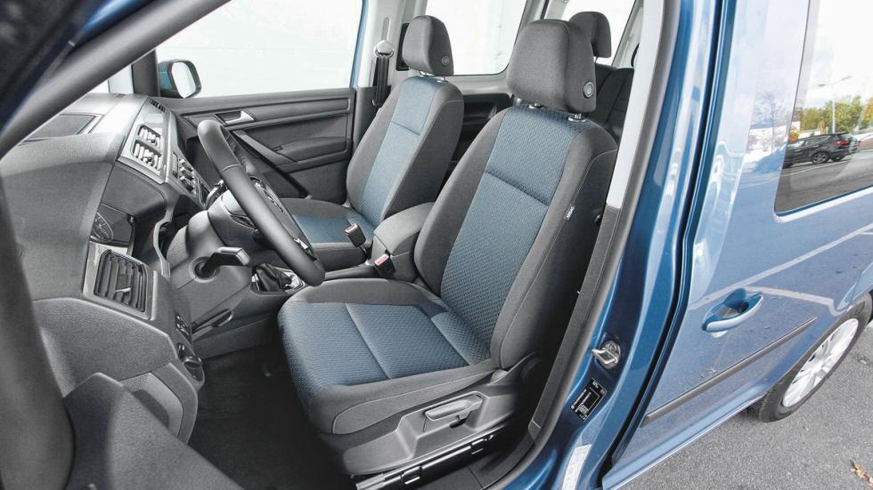 Volkswagen Caddy asientos