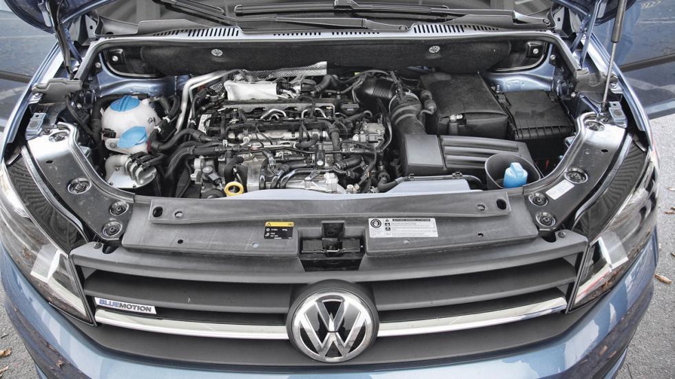 Comparativa comerciales: VW Caddy 'vs' Peugeot Partner -- Autobild.es