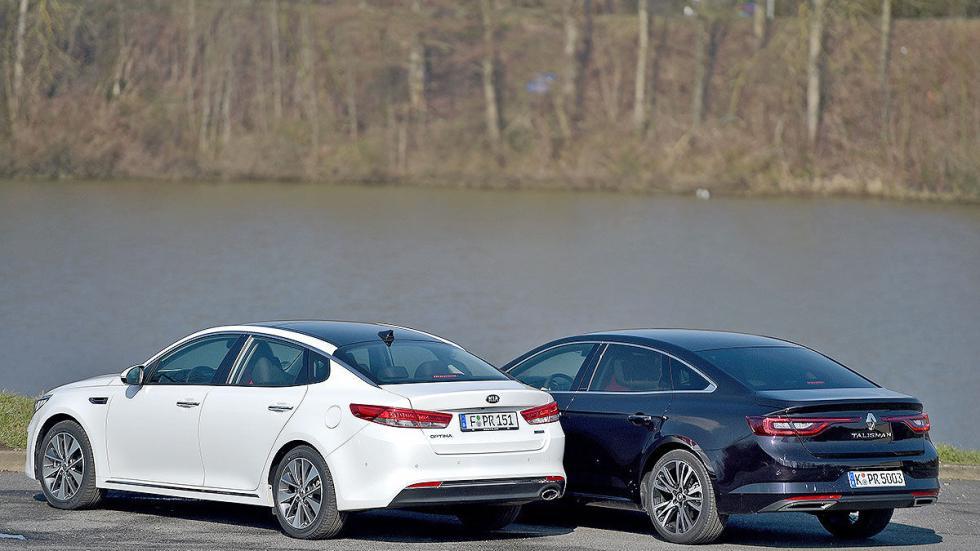 Cara a cara: Renault Talisman vs Kia Optima