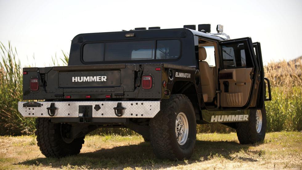 Hummer Tupac trasera