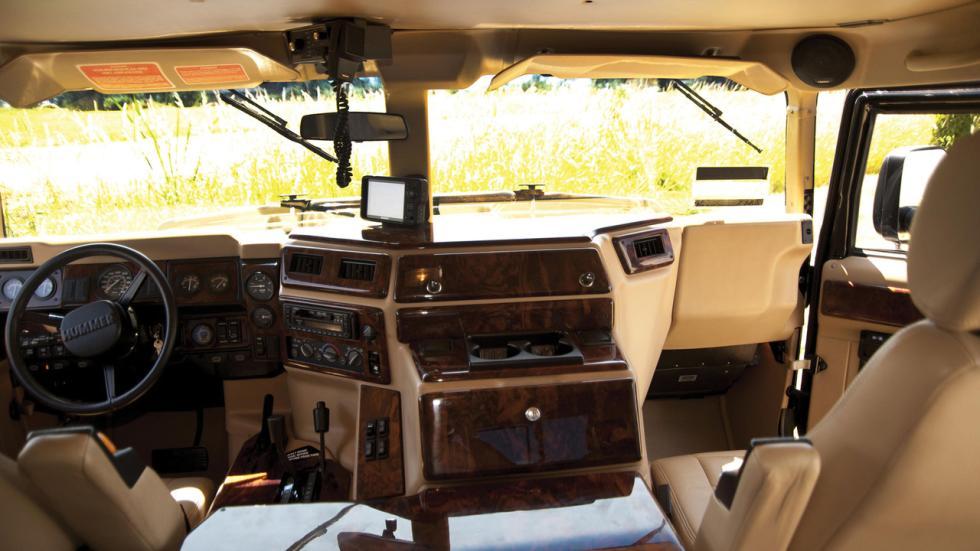 Hummer Tupac interior