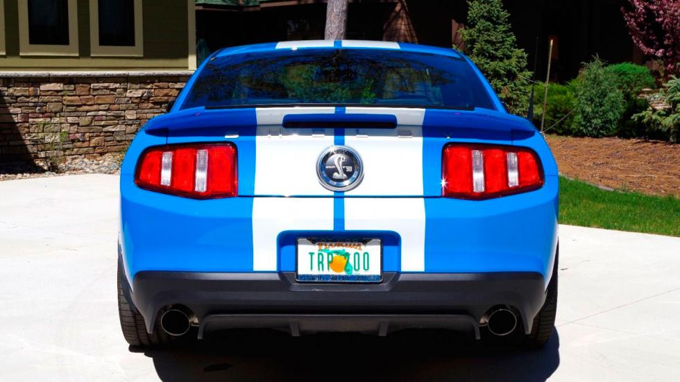 Shelby GT500 Ford Mustang trasera 34km