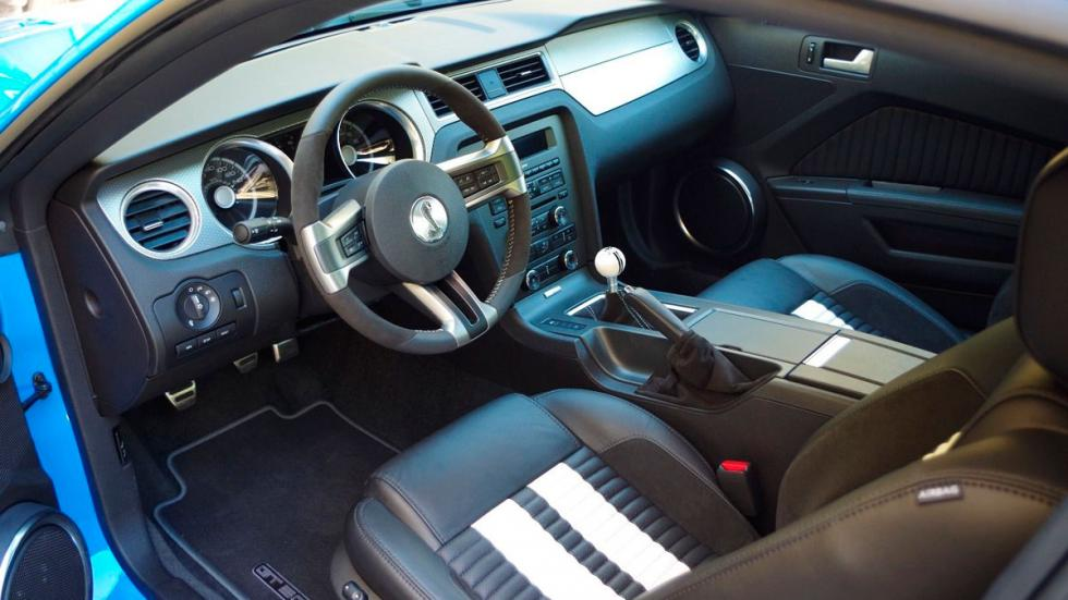 Shelby GT500 Ford Mustang interior