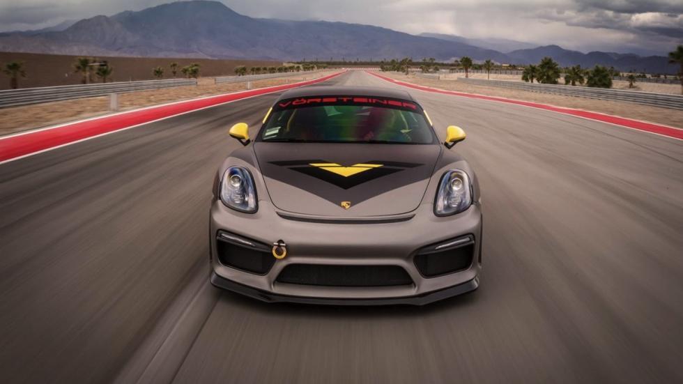Porsche Cayman V-CS Aero kit por Vorsteiner frontal