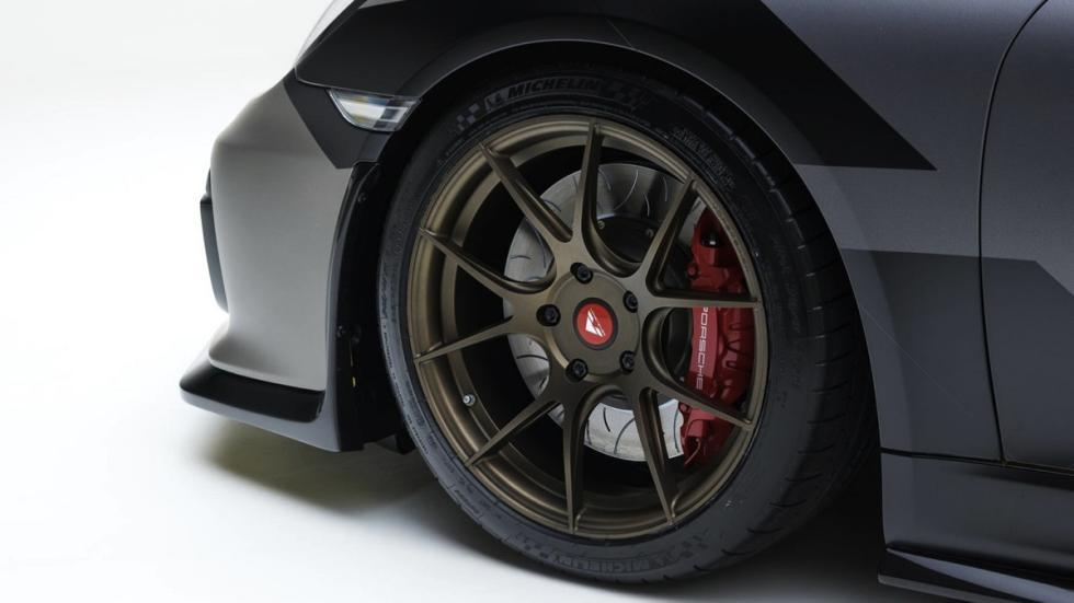 Porsche Cayman V-CS Aero kit por Vorsteiner rueda