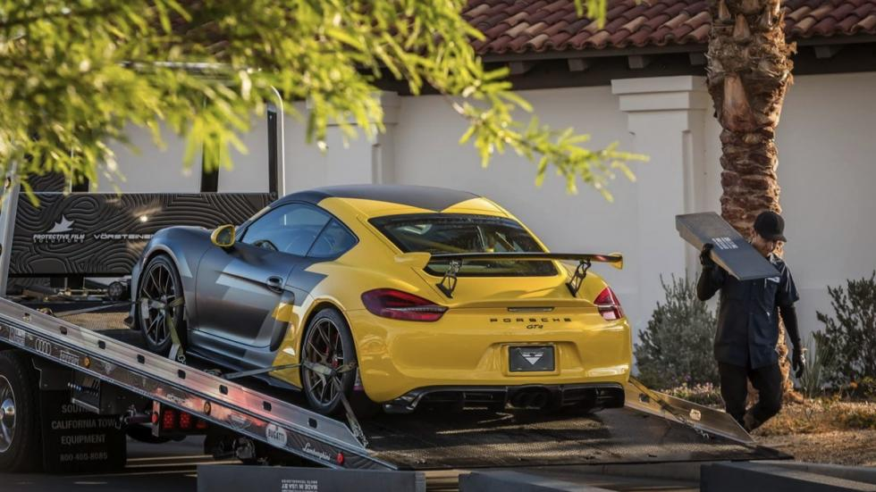 Porsche Cayman V-CS Aero kit por Vorsteiner transporte