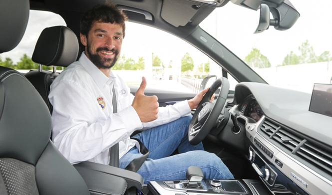 real madrid recoge nuevos audi 2016 interior