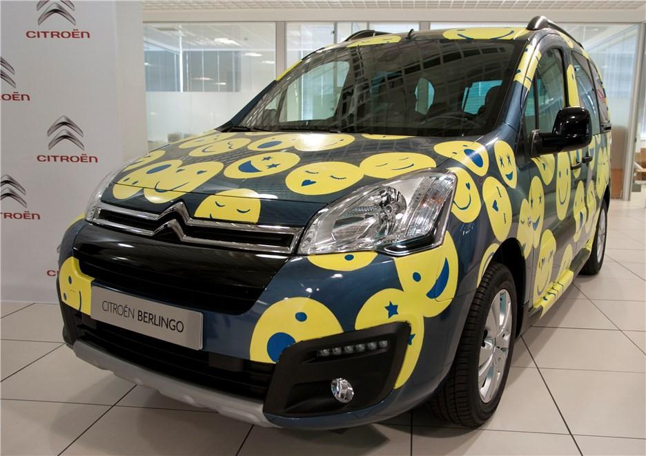 Citroën Berlingo 20 Aniversario personalizada por Cósima Ramírez