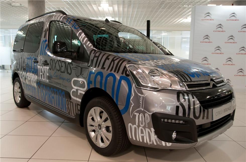 Citroën Berlingo 20 Aniversario personalizada por Caritina Goyanes