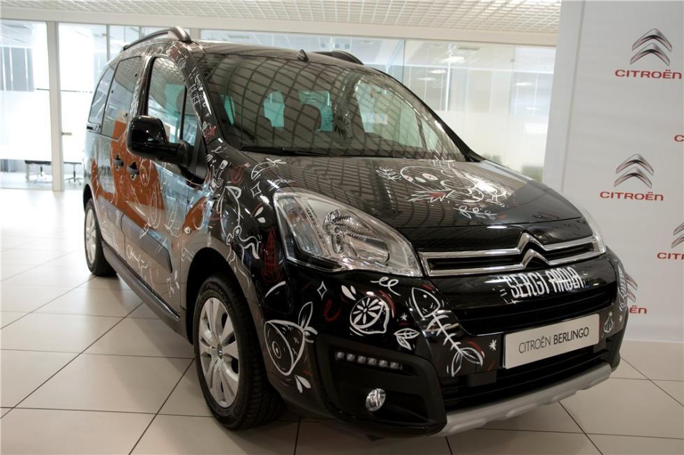 Citroën Berlingo 20 Aniversario personalizada por Sergi Arola