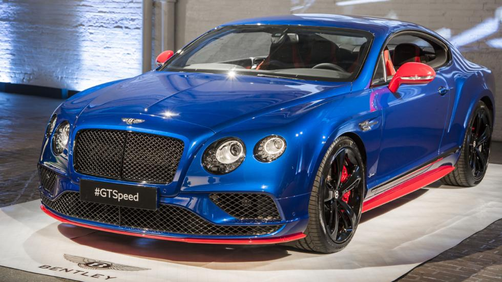 Bentley Continental GT Speed 2016