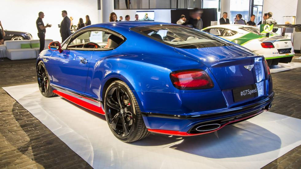 Bentley Continental GT Speed 2016 zaga