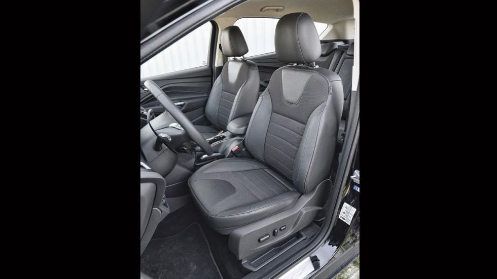 Ford Kuga asientos delanteros