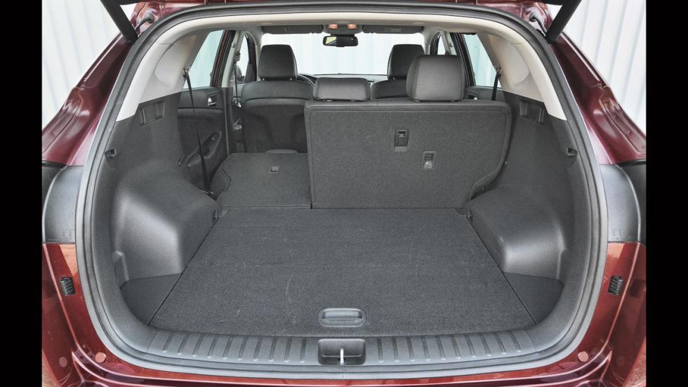 Hyundai Tucson maletero