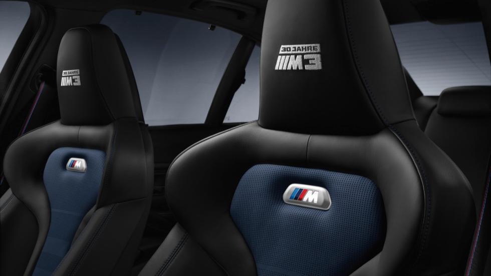 BMW M3 30 Years M3 asientos