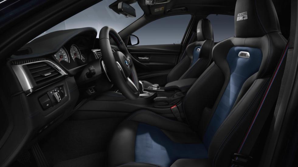 BMW M3 30 Years  interior