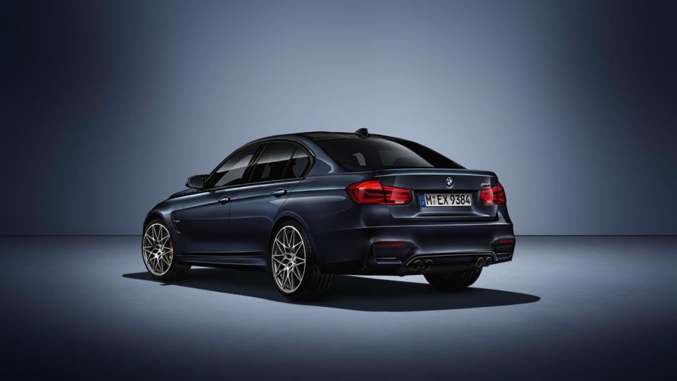 BMW M3 30 Years  trasera