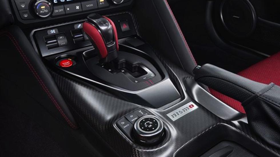 Nissan GT-R Nismo 2017 cambio