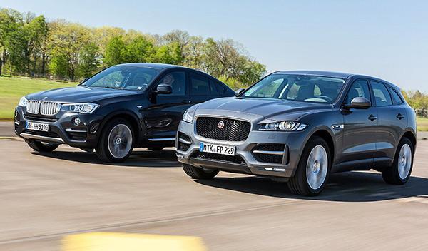 Cara a cara: Jaguar F-Pace vs BMW X4