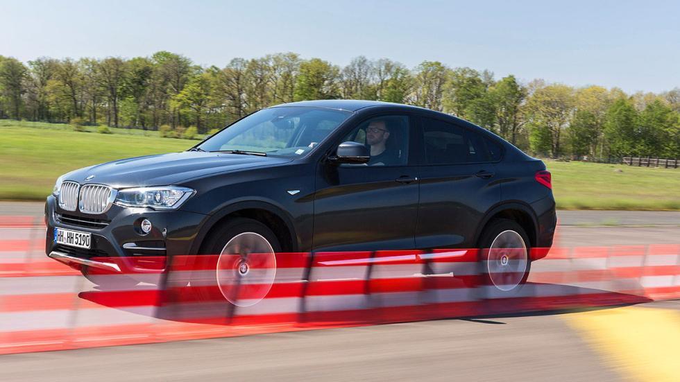 BMW X4 barrido