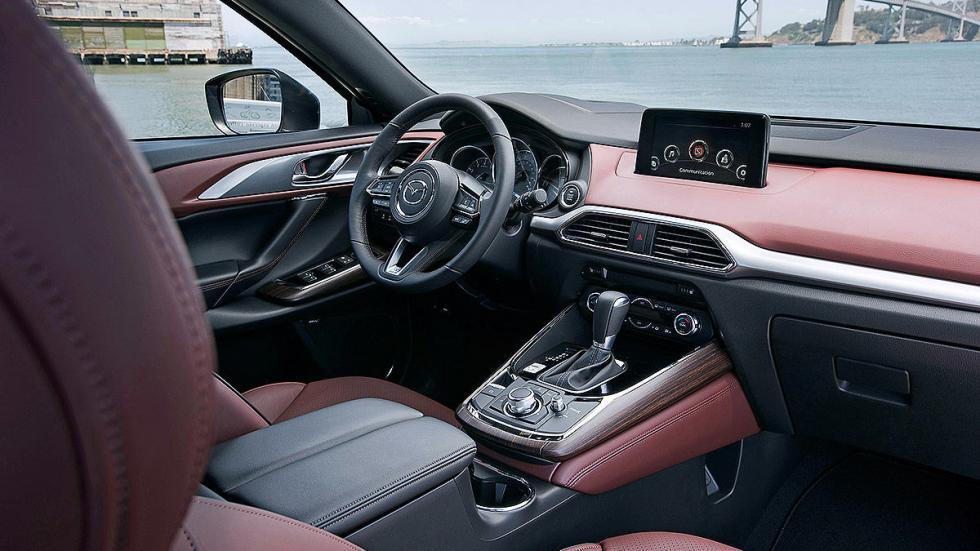 Mazda CX-9 interior lateral asientos