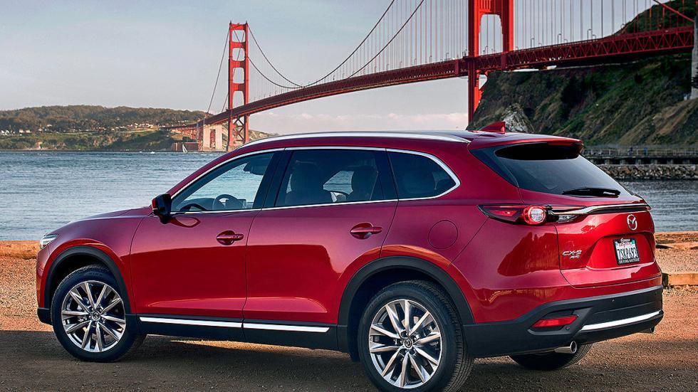 Mazda CX-9 lateral cambio puente zaga