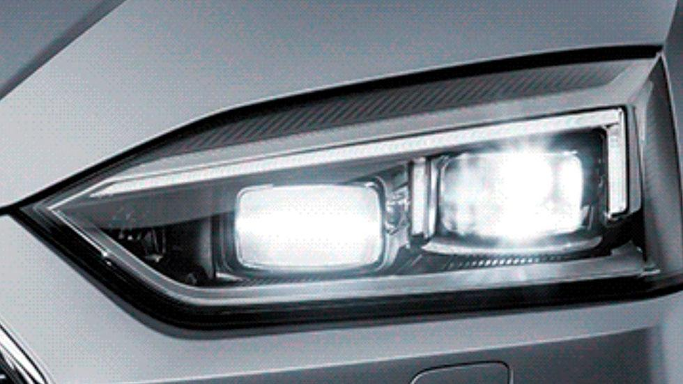 Audi A5 faros led full matrix nuevo 2017