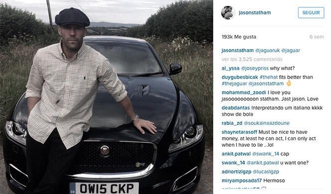Jason Statham Jaguar XJR