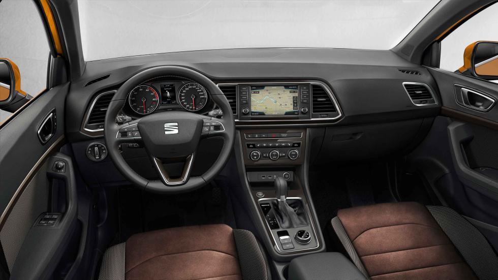 seat ateca 2016 interior