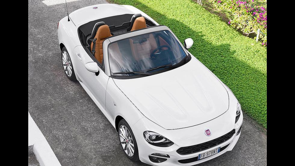 Prueba: Fiat 124 Spyder cenital