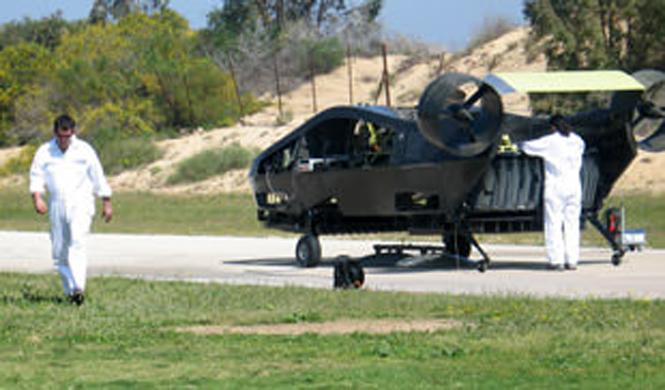 airmule avion no tripulado batman vertical