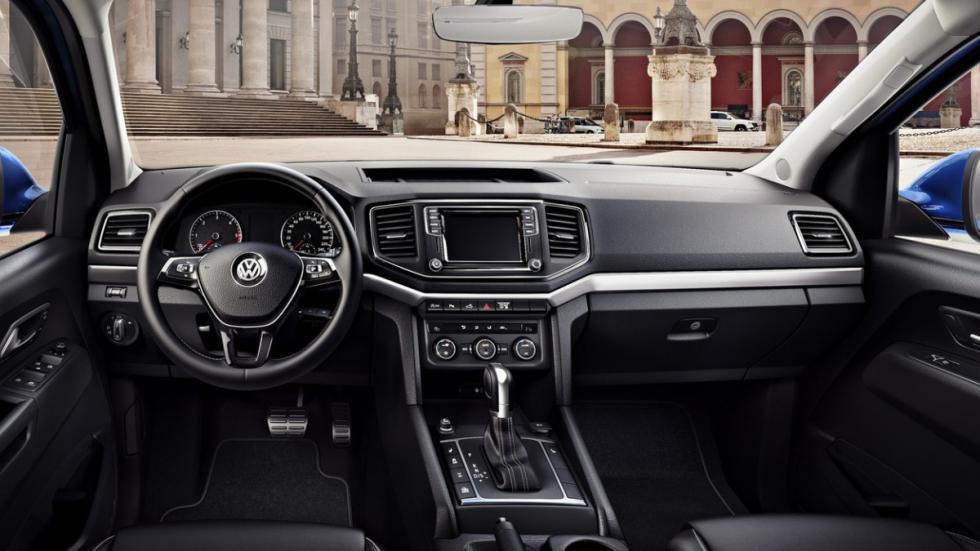 Volkswagen Amarok 2016 salpicadero