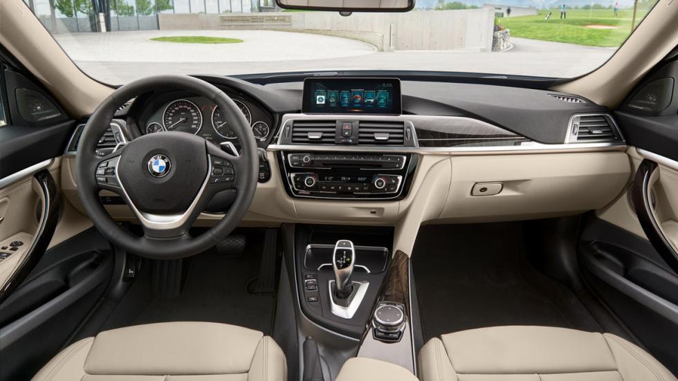 BMW Serie 3 Gran Turismo 2016 salpicadero
