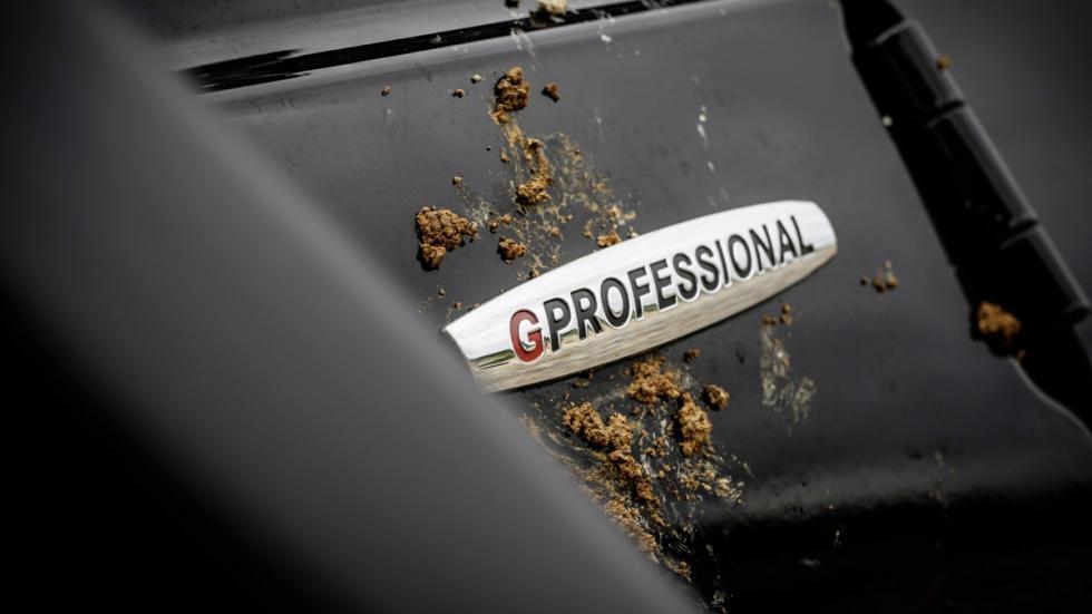 Mercedes G 350d Professional 2016 logo gprofessional