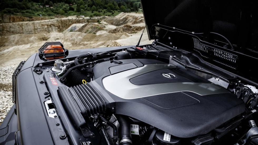 Mercedes G 350d Professional 2016 motor