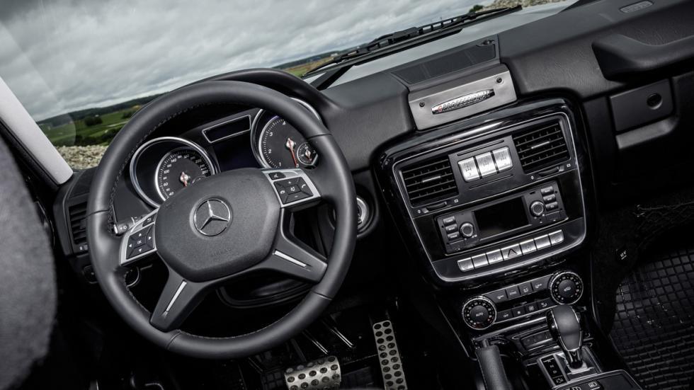 Mercedes G 350d Professional 2016 salpicadero