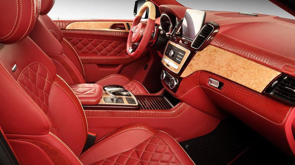 Mercedes GLE con piel de cocodrilo