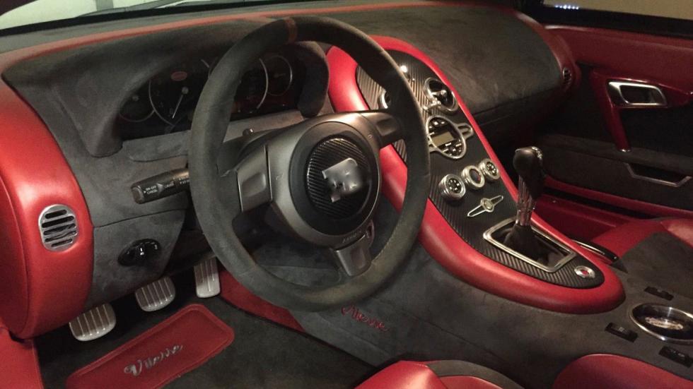 subasta réplica Bugatti Veyron habitáculo